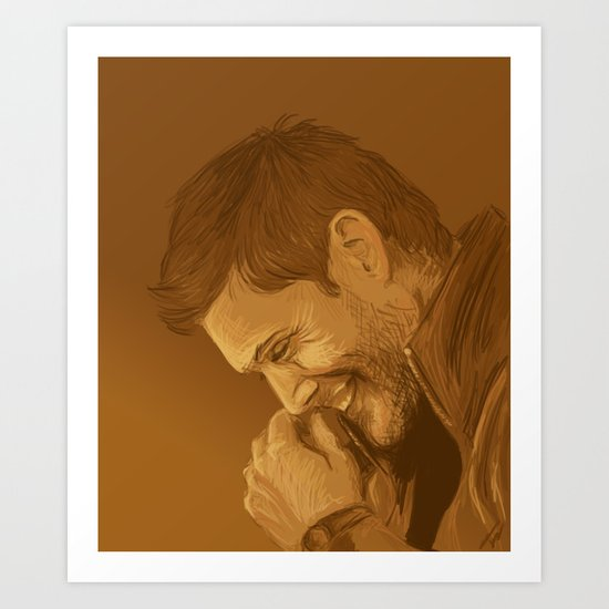 It's been a long time since I've laughed that hard. Art Print