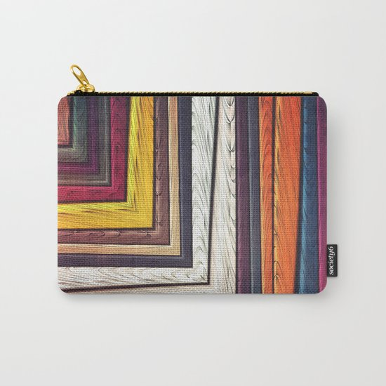 Geometric/Abstract V Carry-All Pouch