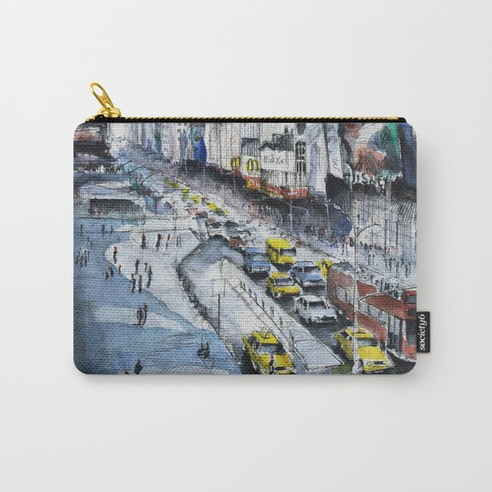 Time square - New York City Carry-All Pouch