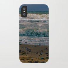 Norfolk waves iPhone X Slim Case