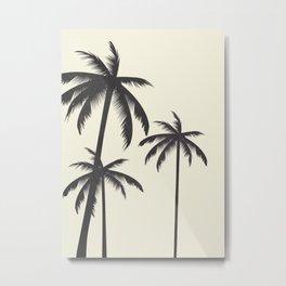 Palm Trees No.1 Metal Print