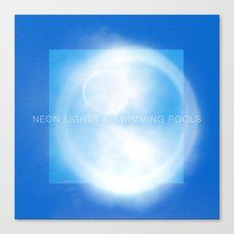 Neon Lights & Swimming Pools Canvas Print