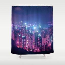 Neo Hong Kong Shower Curtain