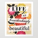 Life is Breathtakingly Beautiful by petitestitches