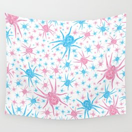 Halloween Spider (white) Wall Tapestry