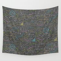 math Wall Tapestries featuring Math Lessons by robyriker