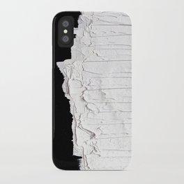 Black, White & White iPhone Case