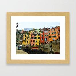 Cinque Terre - Riomaggiore Framed Art Print