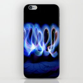GLOWSTICKS IN THE BEDROOM iPhone Skin