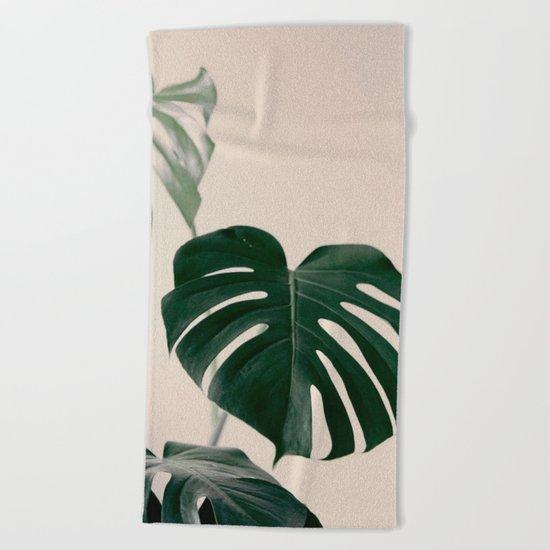 Botanical Vibes VII Beach Towel