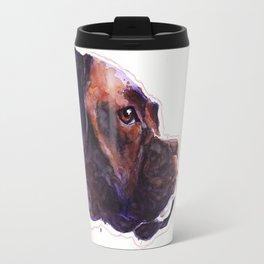 Dogface Boxer Travel Mug