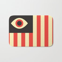 Stares and Stripes Bath Mat