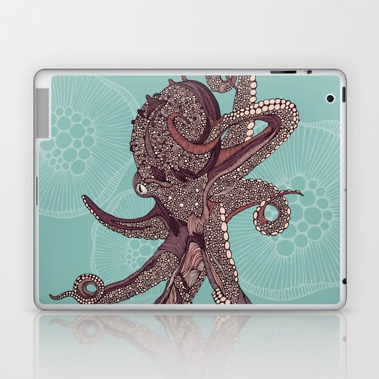 Octopus Bloom Laptop & iPad Skin