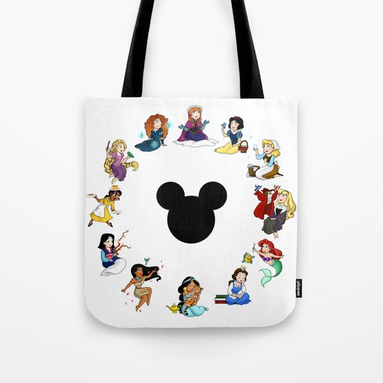 Time To Be A Princess (Anna) Tote Bag