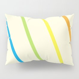 Finding the Rainbow Pillow Sham