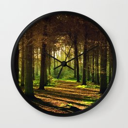 Woodland Tranquility Wall Clock