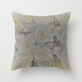 Sunset on Venus Throw Pillow
