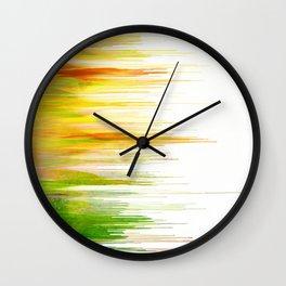 Drippy Summer Wall Clock