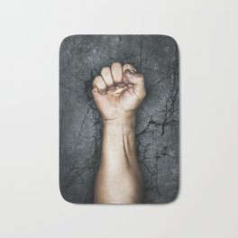 Protest fist Bath Mat