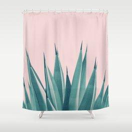 Blush Agave Dream #1 #tropical #decor #art #society6 Shower Curtain