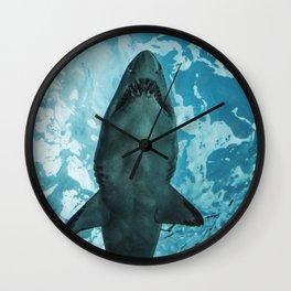 Shark Photography | Deep Sea | Ocean Art | Wildlife | Nature | Fish Wall Clock