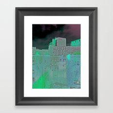 Night of Futures Past Framed Art Print
