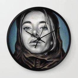 Church Girl Wall Clock