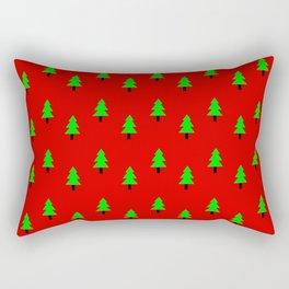 Christmas tree 6 Rectangular Pillow