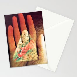 What You Do Is Imprinted On You Stationery Cards