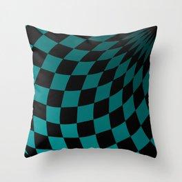 Wonderland Floor #4 Throw Pillow