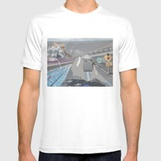 Perspective  Mens Fitted Tee White MEDIUM