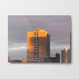 Boston Mornings Metal Print