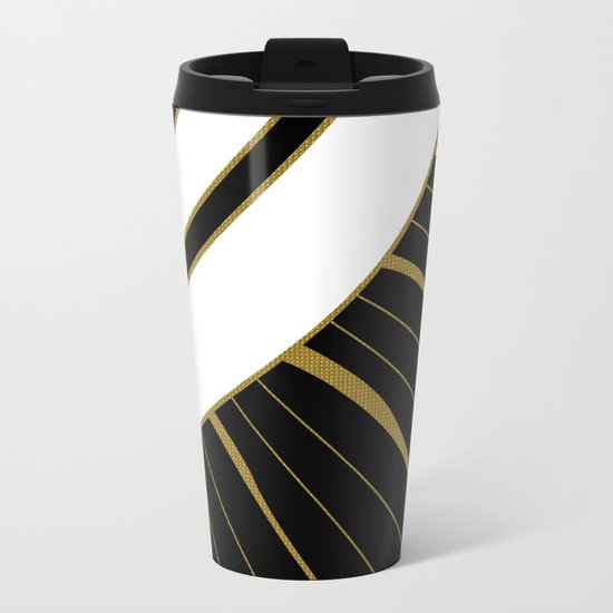 BURNING SUN Metal Travel Mug