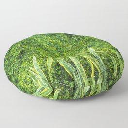 muro verde Floor Pillow