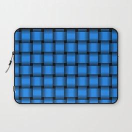 Dodger Blue Weave Laptop Sleeve