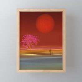 peaceful time -6- Framed Mini Art Print
