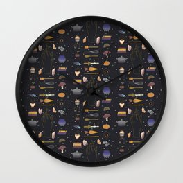 Baking Witch Starter Kit Wall Clock