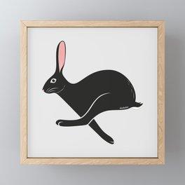 Wild Hare Framed Mini Art Print