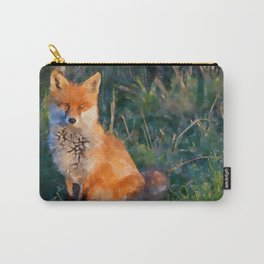 The Little Fox Carry-All Pouch
