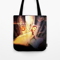 fairytale Tote Bags featuring Fairytale by Emma Design Digital Arts