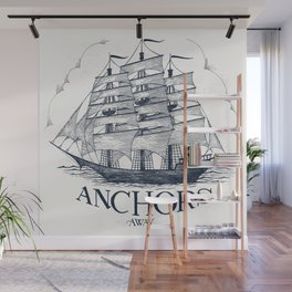 Anchors Away Wall Mural