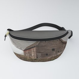 Bring the Rain - Rustic Barn and Storm in Eastern Nebraska Fanny Pack