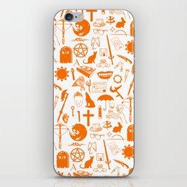 Buffy Symbology, Orange iPhone Skin