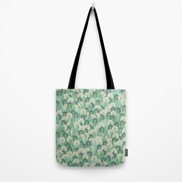 Geometric Woods Tote Bag