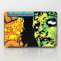 drums iPad Cases featuring Voodoo Drums by Sellergren Design - Art is the Enemy