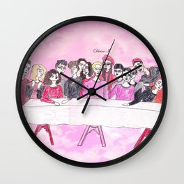 R.I.P. WYLIE HOUSE Wall Clock