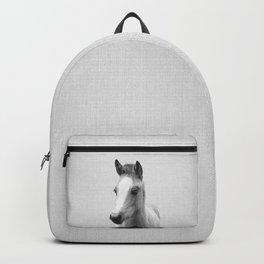 Baby Horse - Black & White Backpack