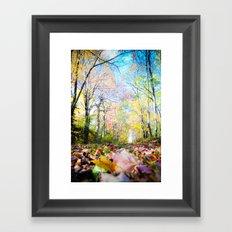 Amongst the Leaves Framed Art Print
