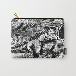 T-Rex Pen and Ink Carry-All Pouch