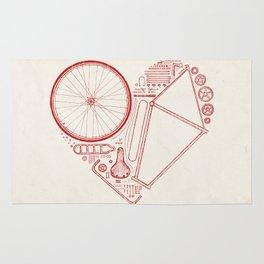 Love Bike Rug
